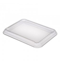 Clear A-pet Lid For 227 x 177 Tray