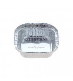 Foil Take-away Container 340ml Small Square