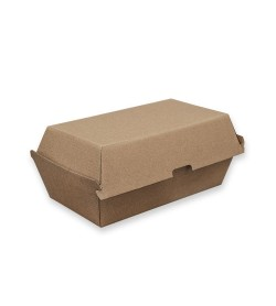 Brown Kraft Board Snack Box Regular