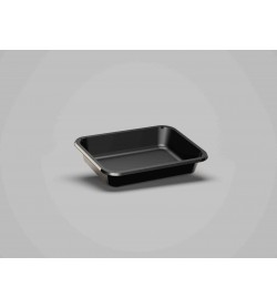 Cpet Tray Black 188 x 137 x 35mm
