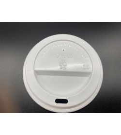 Coffee Cup Lid 8oz Single Wall (Suits Slim Cup)