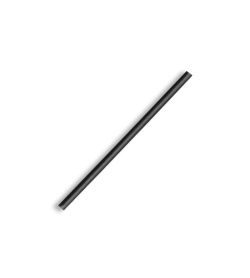 BIOPAK COCKTAIL BLACK STRAW