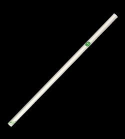 BIOPAK 6MM REGULAR WHITE STRAW