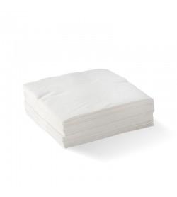 BIOPAK 2-PLY WHITE CORNER EMBOSSED COCKTAIL BIONAPKIN