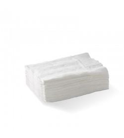 BIOPAK D-FOLD COMPACT 1-PLY WHITE DISPENSER BIONAPKIN