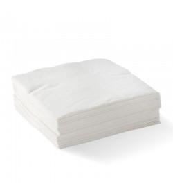 BIOPAK 2-PLY 1/4 FOLD WHITE CORNER EMBOSSED DINNER BIONAPKIN