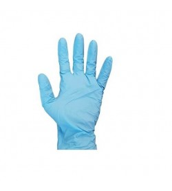 Nitrile Blue Powder Free Glove Large