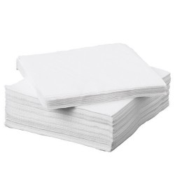 Quilted Dinner Napkin White GT Fold