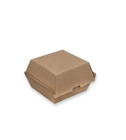 Brown Kraft Board Burger Box
